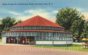 1940s_kaydeross_beach_saratoga_ny_postcard_carousel_01